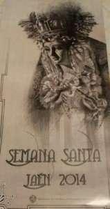 Cartel Semana Santa Jaén 2014.