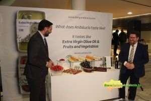 La campaña, presentada por los consejeros de Agricultura, Pesca y Desarrollo Rural, Rodrigo Sánchez Haro, y de Turismo y Deporte, Francisco Javier Fernández, tiene como eslogan 'Tasty Andalucía ('Sabrosa Andalucía').