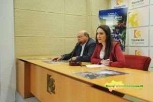 Carmen Gómez y Miguel Ángel Roldán en rueda de prensa.