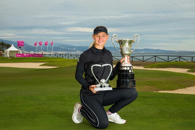 Emily Kristine Pedersen se proclama campeona de la Race to Costa Del Sol