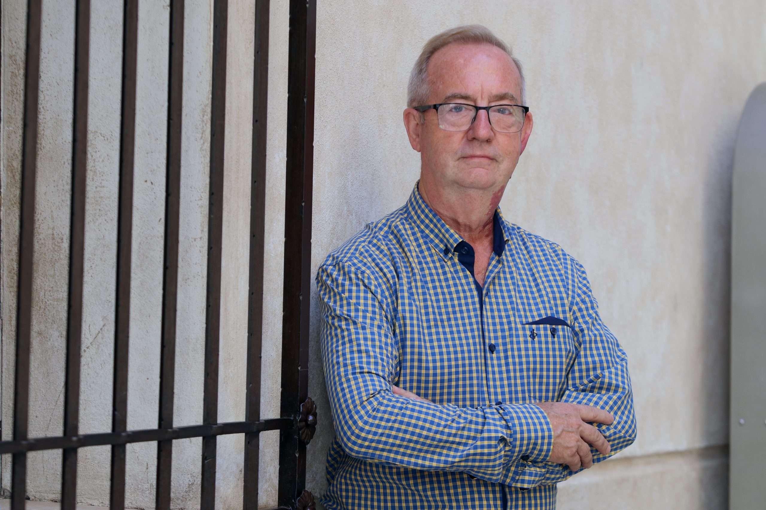 Gonzalo Fuentes nació en la localidad malagueña de Teba hace 63 años y su lucha sindical se remonta a más de cuarenta y cinco años.