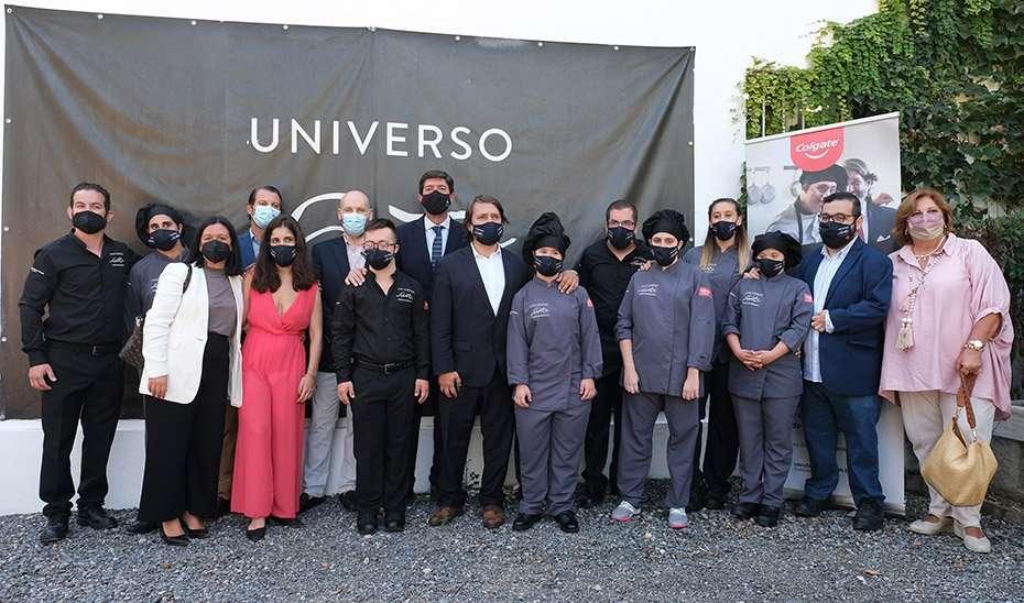 curso de alta cocina y el nuevo menú del Restaurante Universo Santi de la Fundación Universo Accesible